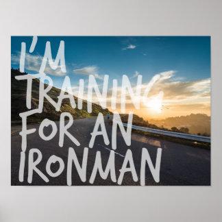 Poster de la inspiración del entrenamiento de póster