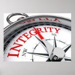 Poster de la integridad