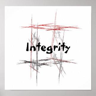 Poster de la integridad de los artes marciales