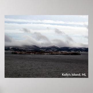 Poster de la isla de Kelly NL