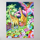 Poster de la jirafa