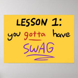 Poster de la lección