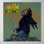 Poster de la lechuga de Naykid de la roca del Grun