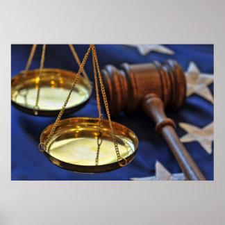 Poster de la ley y orden