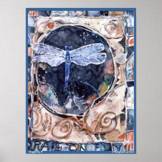 Poster de la libélula II de PMACarlson Póster
