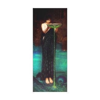 Poster de la lona de Circe Invidiosa del Waterhous Lona Estirada Galerías