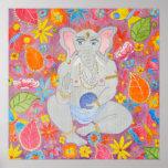 Poster de la lona de Ganesh