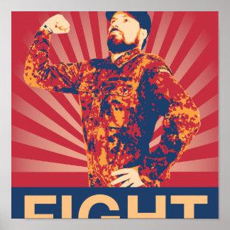 Poster de la lucha de Bruce