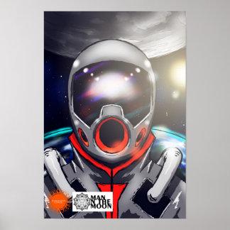 Poster de la luna del Dr. Azel Man On The