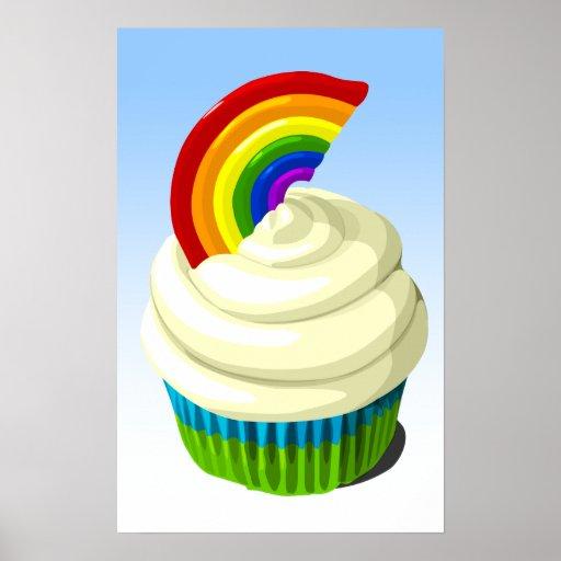 Poster de la magdalena del arco iris