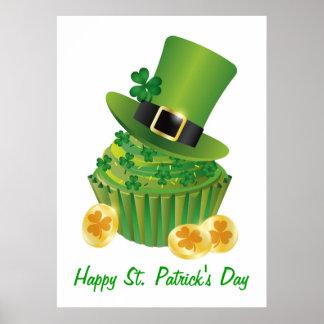 Poster de la magdalena del día de St Patrick