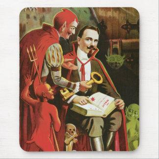 Poster de la magia de Alexander Federico del vinta Tapete De Ratón