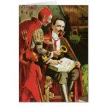 Poster de la magia de Alexander Federico del vinta Tarjetón