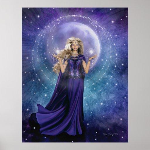 Poster de la magia de la luna