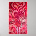 Poster de la magia de la señora rosada tierra