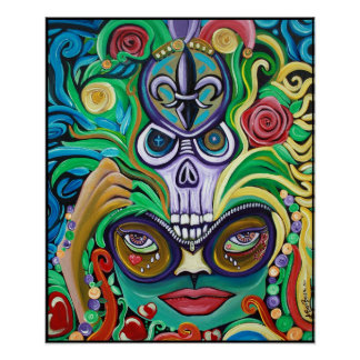 Poster de la magia del carnaval