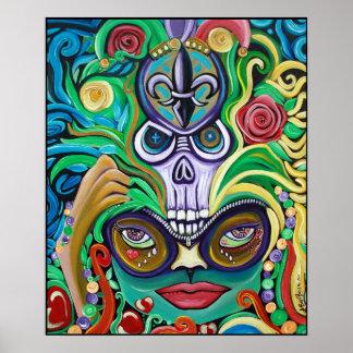 Poster de la magia del carnaval póster