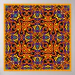 Poster de la magia del mandarín de Kreations del c