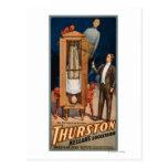Poster de la magia del sucesor de Thurston Kellar Postales