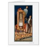 Poster de la magia del sucesor de Thurston Kellar Tarjeta De Felicitación