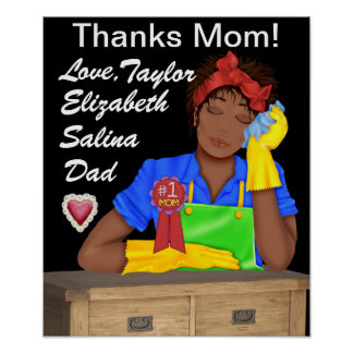 Poster de la mamá de las gracias - SRF