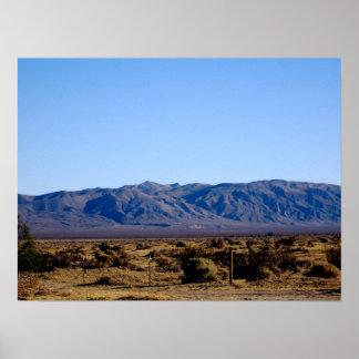 Poster de la mañana del Mojave