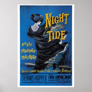 Poster de la marea de la noche