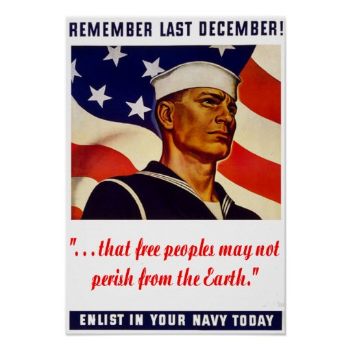 Poster de la marina de guerra