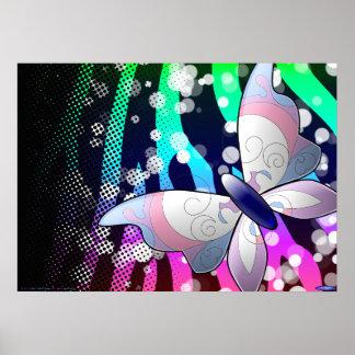 Poster de la mariposa (personalizable!)