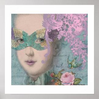Poster de la mascarada de Marie Antonieta