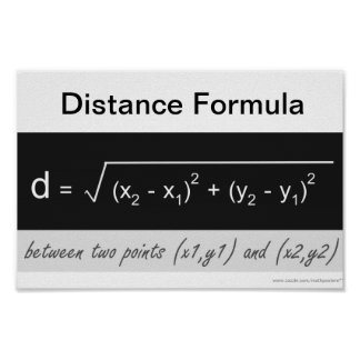 Poster de la matemáticas de la fórmula de la