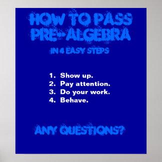 poster de la matemáticas póster