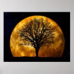 Poster de la medianoche de la Luna Llena