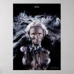 """Poster de la """"medusa"""" de Cyril Helnwein"""