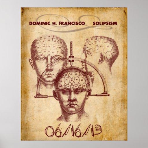 Poster de la mente del Solipsism