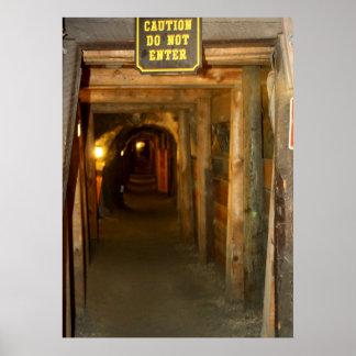 Poster de la mina de oro