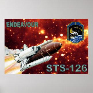 Poster de la misión del STS 126