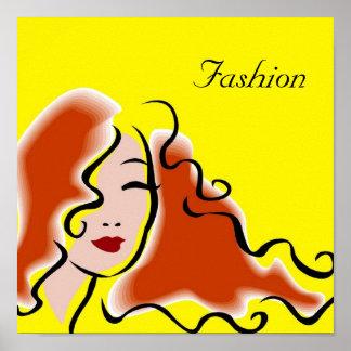 Poster de la moda