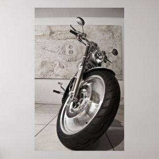 Poster de la motocicleta