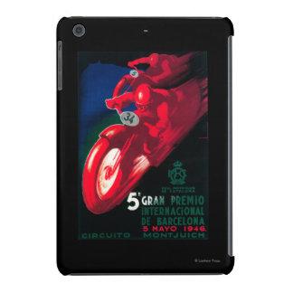 Poster de la motocicleta de 5 Gran Premio Fundas De iPad Mini Retina