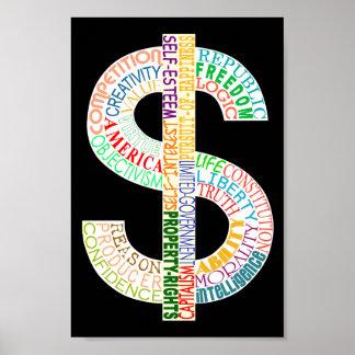 Poster de la muestra de dólar