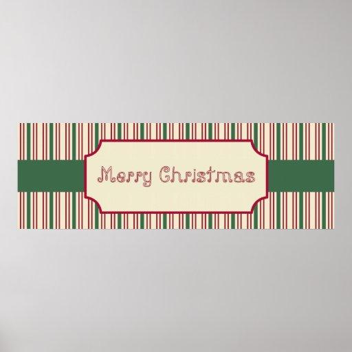 Poster de la muestra de las Felices Navidad