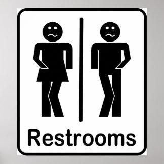 Poster de la muestra de los lavabos