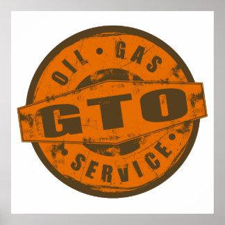 Poster de la muestra GTO del vintage