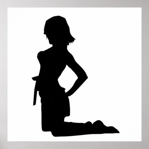 Poster de la mujer 10
