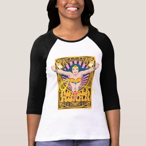 Poster de la Mujer Maravilla Camisetas