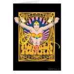 Poster de la Mujer Maravilla Tarjeta De Felicitación
