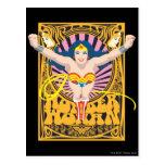 Poster de la Mujer Maravilla Tarjeta Postal