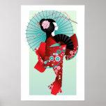 Poster de la muñeca 3 de Origami