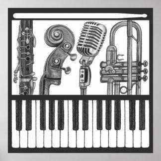Poster de la música